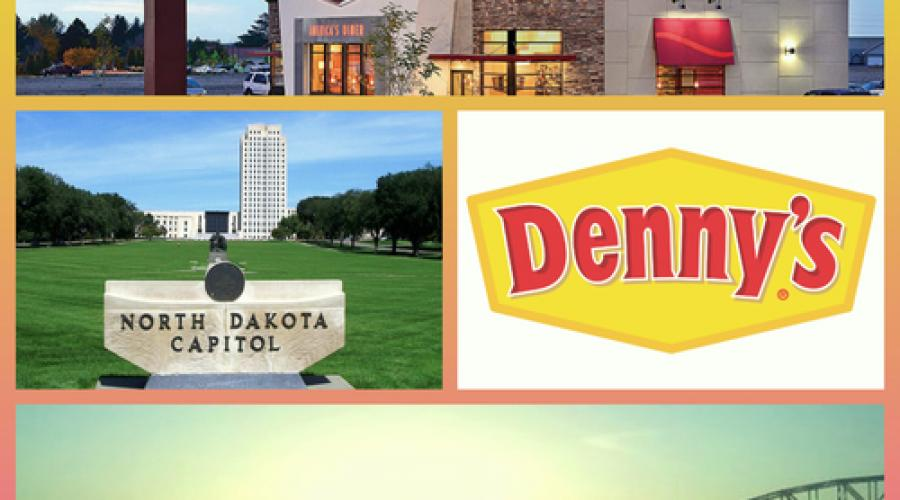 Denny`s North Dakota